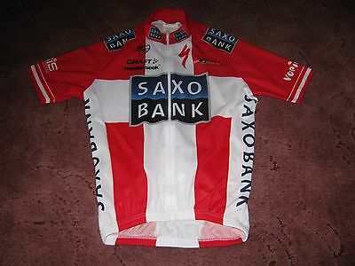 Saxo Bank Specialized Danish Champion Craft Italian Cycling Jersey [S]