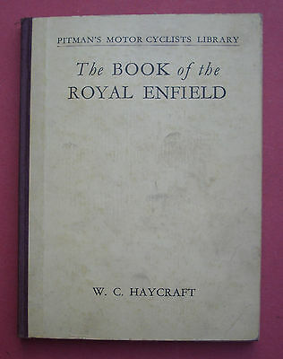 The Book Of The Royal Enfield, Haycraft, pitman, manual, motorcycle