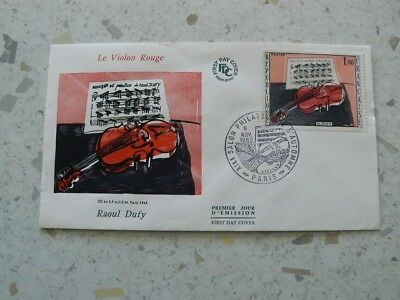 FDC Le Violon Rouge 1965