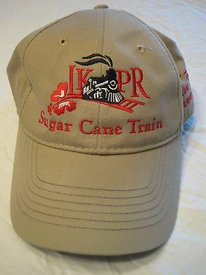 Vintage Discontinued Lahaina Kaanapali & Pacific Sugar Cane Train Cap LKPRR