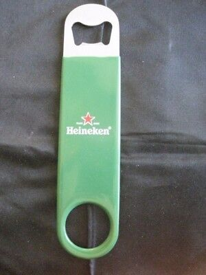 Heineken Metal Beer Bottle Opener / Bar Blade New