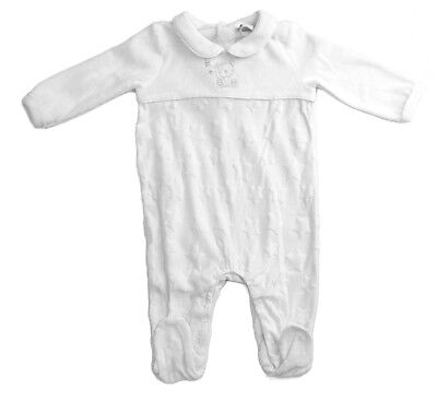 Baby Boy Girl Spanish Romany style Rock a bye Baby Boutique romper white NB-6m