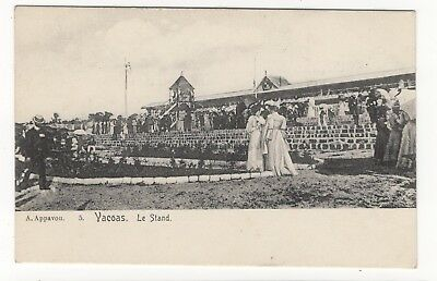 Mauritius The Stand At The Racecourse Vacoas Old Photo Postcard