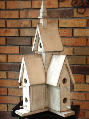 Cathedral Birdhouse PATTERN & INSTRUCTIONS You Build