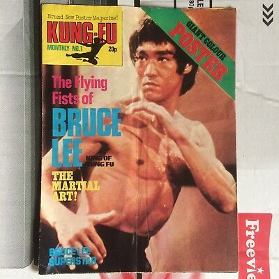 kung Fu monthly issue number 1