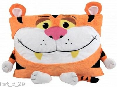 Pillow Eating Soft Toy Pet Pillow Cover Case Bedroom Nursery Shamzees kids 18m +