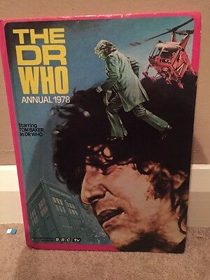 Dr Who Annual 1978 Tom Baker