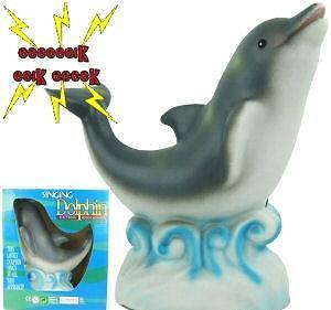 New Electronic Motion Activated Singing Dolphin - NIB - Great Door Greeting