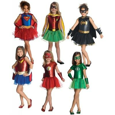 Girl Supehero Costumes Kids Halloween Fancy Dress