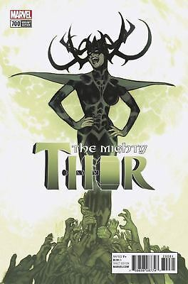 the MIGHTY THOR 700 ADAM HUGHES 1:100 VARIANT NM HELA free shipping