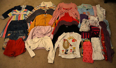 Girls Autumn / Winter clothes bundle aged 3-4 years - 39 items