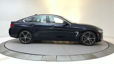 2018 BMW 4-Series 430i Gran Coupe 430i Gran Coupe 4 Series New 4 dr Automatic Gasoline 2.0L 4 Cyl Imperial Blue Me