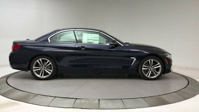 2018 BMW 4-Series 430i 430i 4 Series New 2 dr Convertible Automatic Gasoline 2.0L 4 Cyl Imperial Blue M