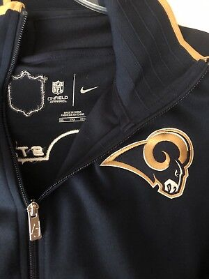St Louis Rams Game / Team Issued Nike jacket - Size XXL