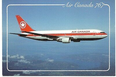 CDN Postcard Air Canada 767