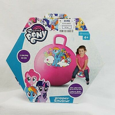 MY LITTLE PONY HOPPER BALL Child  4+Sport Game Fun Play Gift KIDS TOY HASBRO