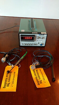 Walker Scientific Mg-3D Gaussmeter 115V 1Ph 50/60Hz With Probes Hp93R Hp33S