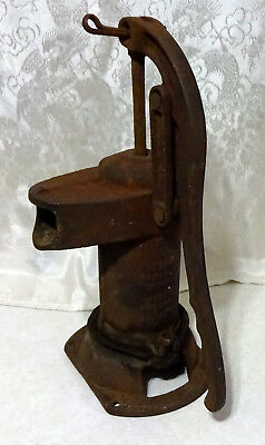 Sears Roebuck & Co Water Well Hand Pump Cast Iron 2574 Kitchen Yard Decor as is