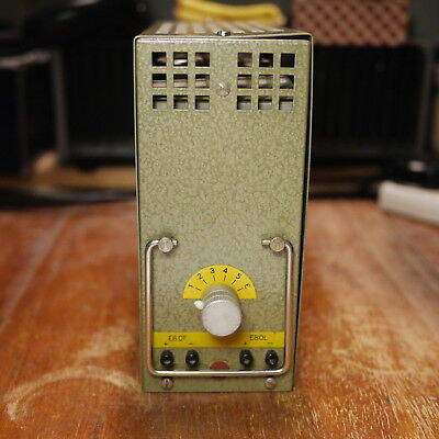 WSW 811351 Siemens Valve Mic / Line Amplifier Vintage Used by DECCA