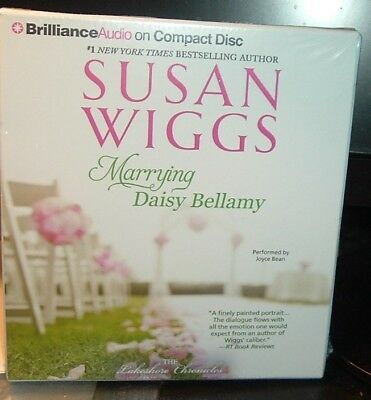 New Auiobook On Cd Marrying Daisy Bellamy By Susan Wiggs