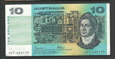 Australia 1985 10 Dollars P 45e Circulated