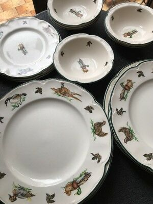 Brookshire Johnson Bros Made In England Plates
