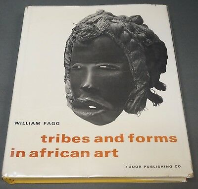 Book: Tribes and Forms in African Art, William Fagg, large book, 1965