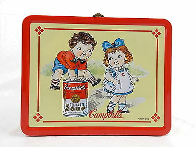 Campbells 1998 Lunchbox Collectors Series Retro Reproduction Tin Metal #3053