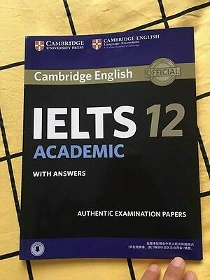 NEW Cambridge IELTS 12 Student's Book with Answers with Audio (ACADEMIC)