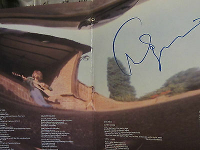 CHRIS SQUIRE Autographed FISH OUT OF WATER Signed Vinyl Record Store NJ DVD Yes