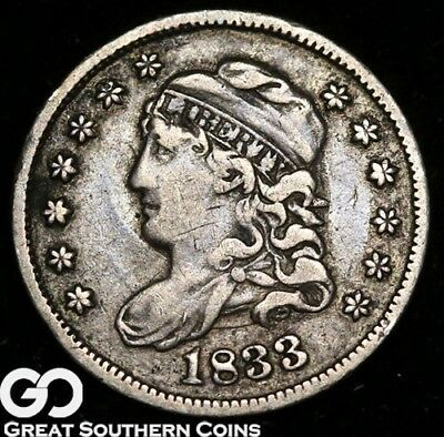 1833 Capped Bust Half Dime, Tougher Denomination