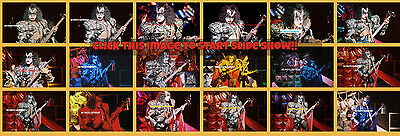 BUY 1,2...OR ALL 8 x 12 inch  photo(s)  KISS GENE SIMMONS 1980  NYC ACE FREHLEY