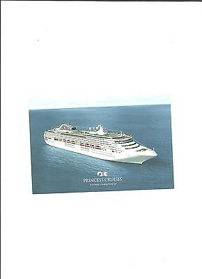 Post Card of the MV Sea Princess, Princess Cruises Line unused new condition
