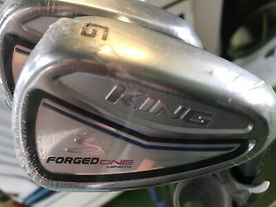 New Cobra King Forged One length Irons 4-PW+GW (8 irons) KBS FLT steel shaft -RH