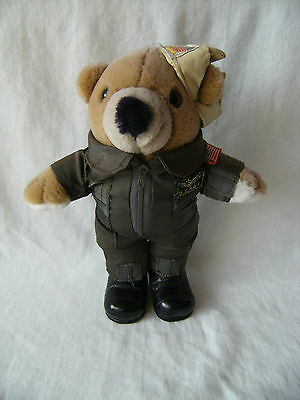 Vintage Us Navy Teddy Bear With Boots 10""