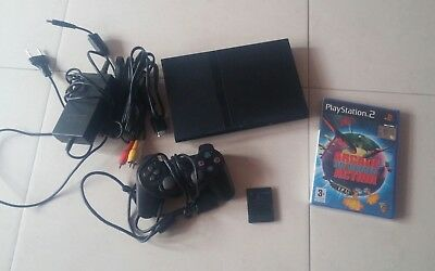 Console Playstation 2 slim + gioco nuovo sigillato ps2