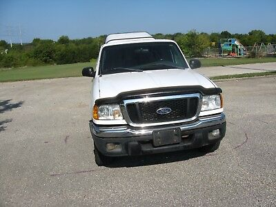 2004 Ford Ranger Supercab 4.0L XLT Off-Rd 4WD w/391A 2004 4X4 FORD RANGER XLT  EXTRA CAB