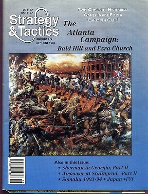 STRATEGY & TACTICS 170  -The Atlanta campaign - MINT AND UNPUNCHED