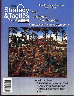 STRATEGY & TACTICS 169 -The Atlanta campaign - MINT AND UNPUNCHED