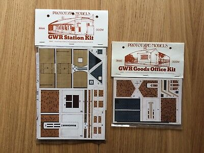JOB LOT OF PROTOTYPE MODELS & BUILDER PLUS 4mm SCALE GWR CARD BUILDING KITS