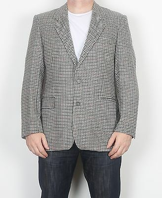 "Harris Tweed 42"" Jacket Blazer Beige Grey (FDG) Medium Large"