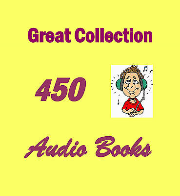 Great Collection of 450 Audio Books on DVD Rom