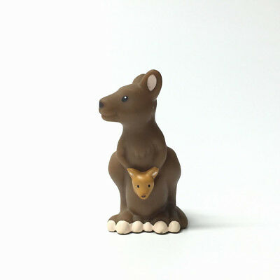 Fisher-Price Little People Zoo Animal kangaroo With Baby Pre-School Kids Toy