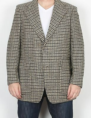 "Harris Tweed 44"" Large XL  Jacket Blazer Brown    (85L)"