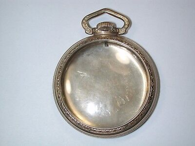 American 16 Size Railroad YGF Pocket Watch Case. 120M