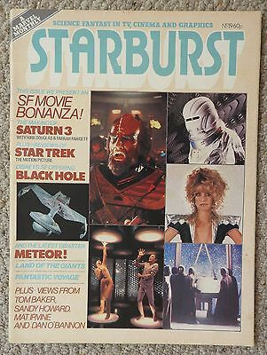 Starburst Magazine 19 - Saturn 3, Black Hole, Meteor, Land Of The Giants
