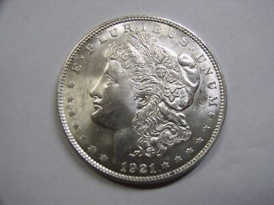 USA , Morgan Dollar, 1921 f.ST ,  Liberty , # 15