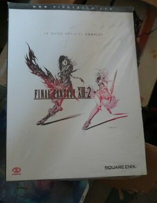 Guide Final Fantasy Xiii-2 Neuf Sous Blister