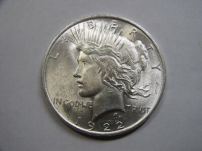 USA , Peace  Dollar, 1922 f.ST ,  Liberty , # 01