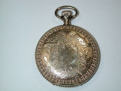 American 6 size YGF Hunting Pocket Watch Case. 138M